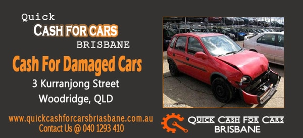 Cash for Damaged Cars brisbane