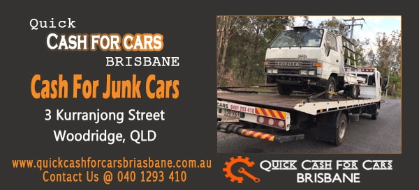 Cash For Junk Cars in Brisbane
