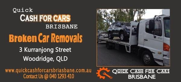 Broken Car Removals Brisbane