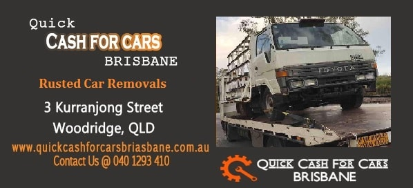 Rusted Car Removals Brisbane